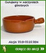 Gotowanie i pieczenie w naczyniach glinianych